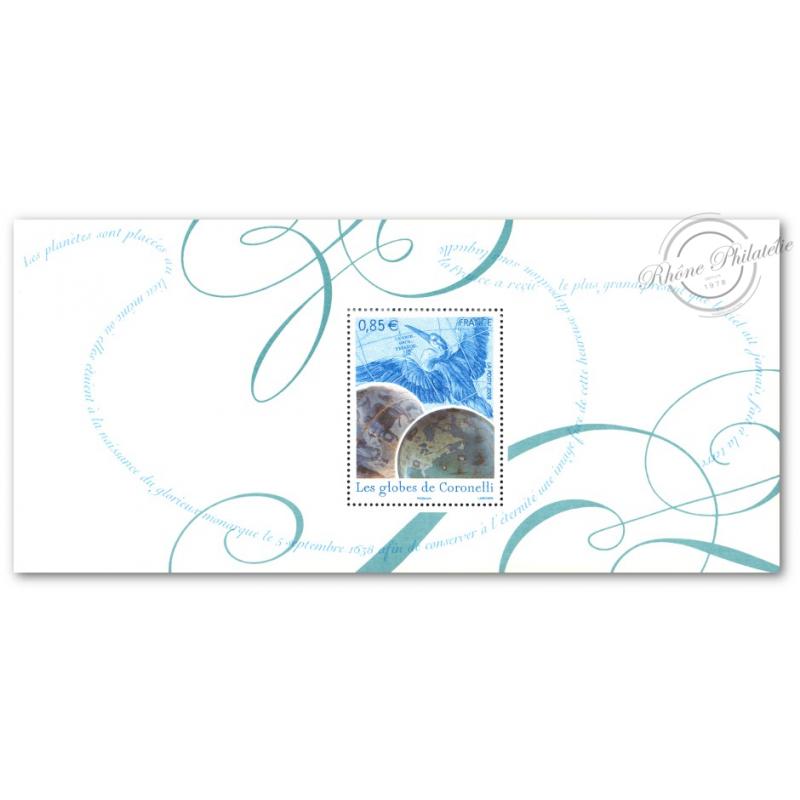 BLOC SOUVENIR N°_26 GLOBES DE CORONELLI 2008 LUXE
