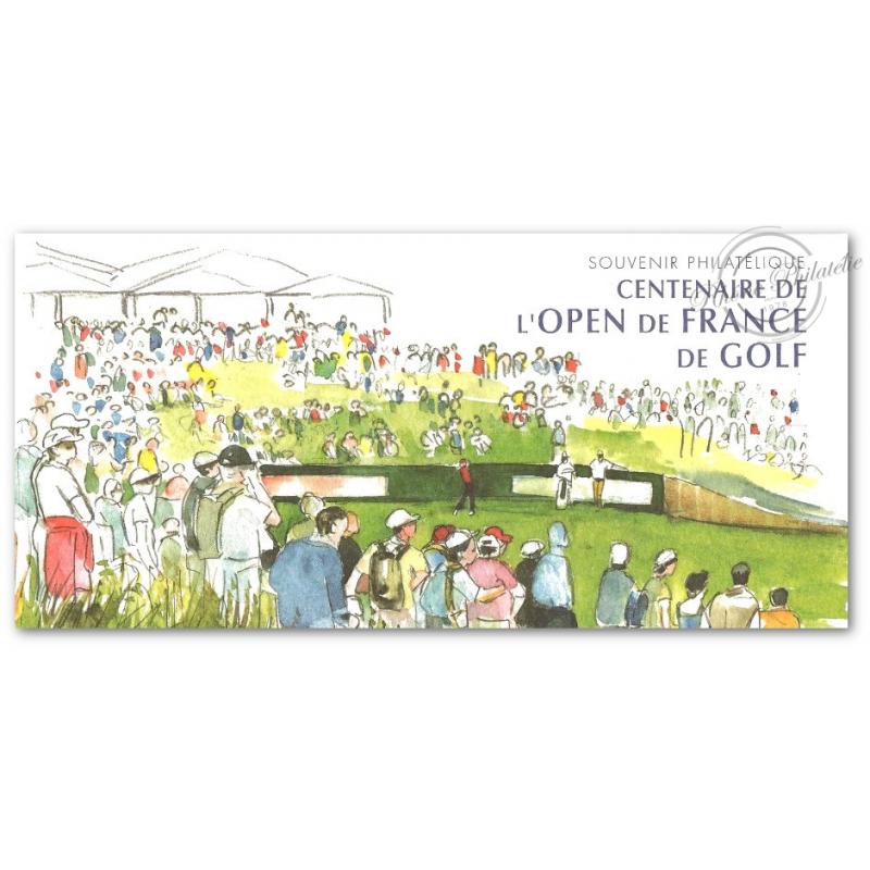 BLOC SOUVENIR N°_13 OPEN FRANCE 2006 - SOUS BLISTER FERME