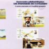 BLOC SOUVENIR N°_49 à 54 AVIATION PIONNIERS 2010 - SOUS BLISTER FERME