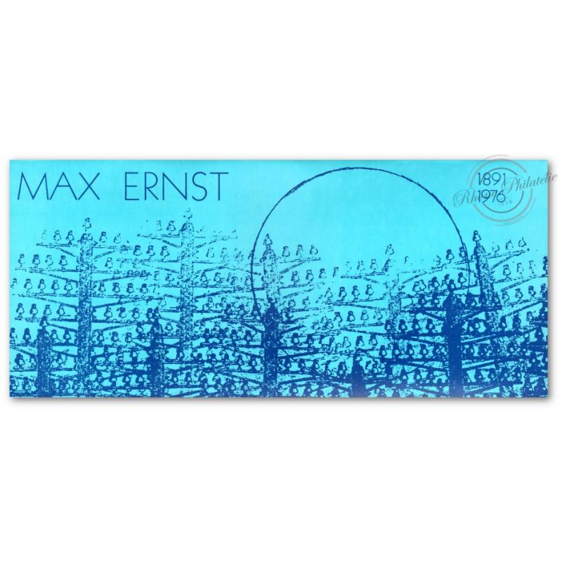 EMISSION COMMUNE (1991) ALLEMAGNE : Max Ernst 1891-1976