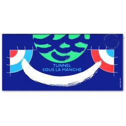 EMISSION COMMUNE (1994) GRANDE-BRETAGNE : tunnel sous la Manche
