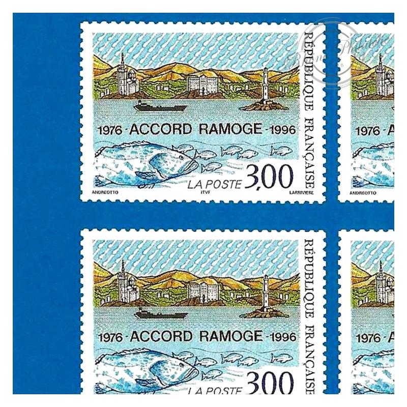 EMISSION COMMUNE (1996) ITALIE et MONACO : L'ACCORD RAMOGE