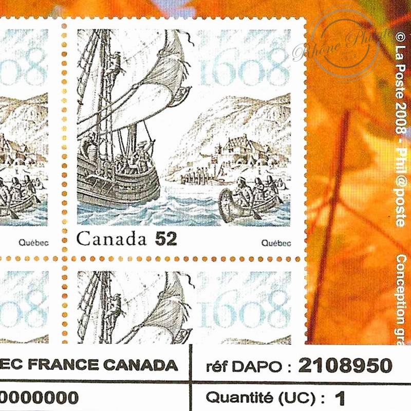 EMISSION COMMUNE (2008) CANADA : Fondation du Québec