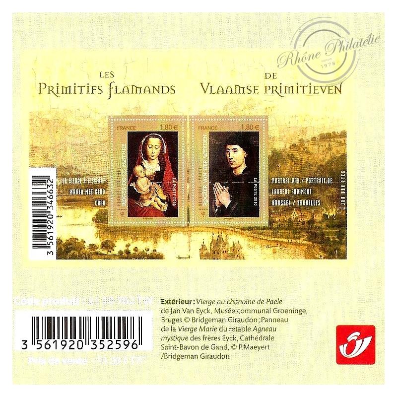 EMISSION COMMUNE (2010) BELGIQUE : les primitifs flamands, série artistique