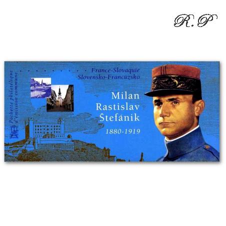 EMISSION COMMUNE (2003) SLOVAQUIE : hommage à Milan Rastislav Stefanik