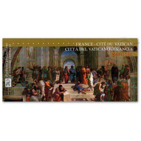 EMISSION COMMUNE (2005) VATICAN : Annonciation de Raphael