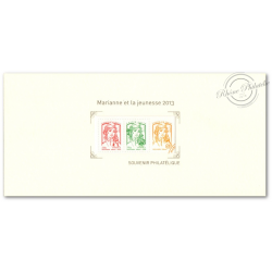 BLOC SOUVENIR N°_82 MARIANNE ET LA JEUNESSE 2013