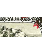 Syrie Timbres Collection Colonie Française