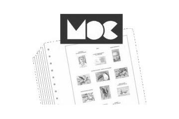 Marque MOC Album Reliure Materiel Accessoire Collection Timbres