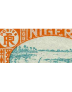 Niger Timbres Collection Colonie Française
