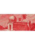 Inde Timbres Collection Comptoirs Etablissements Français