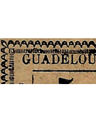 Guadeloupe Timbres Collection Colonie Française