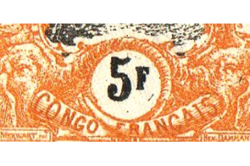 Congo Timbres Collection Colonie Française