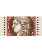 Blocs France Semi-Moderne Timbres Collection