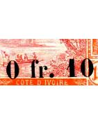 Cote d'Ivoire Timbres Collection Colonie Française