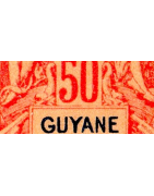 Guyane Timbres Collection Colonie Française