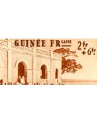 Guinée Timbres Collection Colonie Française
