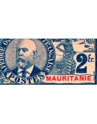 Mauritanie Timbres Collection Colonie Française