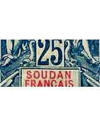 Soudan Timbres Collection Colonie Française