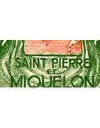 Saint Pierre et Miquelon Timbres Collection Colonie Française