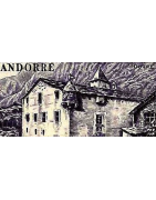 Collections Andorre Timbres Albums