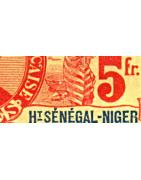 Haut-Sénégal et Niger Timbres Collection Colonie Française