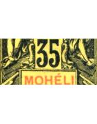 Moheli Timbres Collection Colonie Française