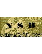 Nossi-Bé Timbres Collection Colonie Française