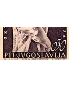 Collection Yougoslavie Timbres Albums
