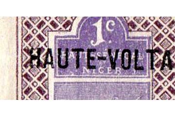 Haute-Volta Timbres Collection Colonie Française