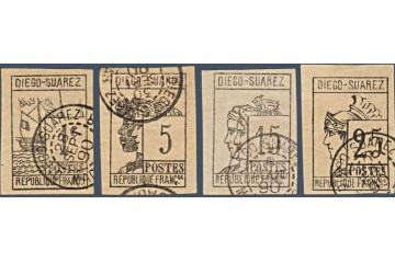 Diego Suarez Timbres Collection Colonie Française