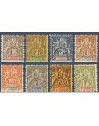 Sénégambie Et Niger Timbres Collection Colonie Française