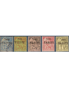 Tahiti Timbres Collection Colonie Française
