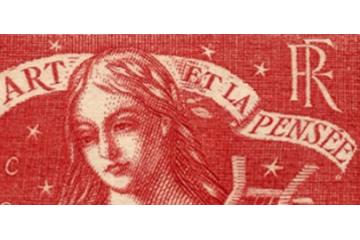 timbres france Semi-Modernes