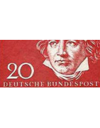 Semi-Moderne Allemagne Timbres Collection Anciens