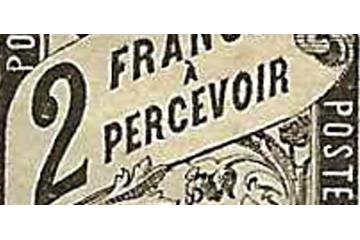 Taxe Classique Timbre Collection français