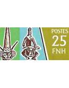 Nouvelles Hebrides Timbres Collection Colonie Français Anglaise