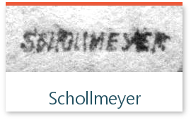 signature de l'expert Schollmeyer sur les timbres de collection